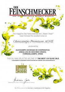 Premio Feinshmecker 2015 GERMANY