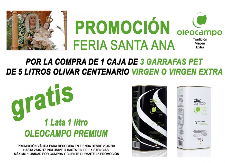 promocion feria santa ana 2018 PROMOCION 2