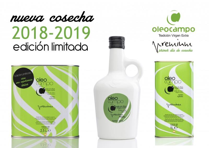 cartel lata 2,5 primera cosecha 2018-2019