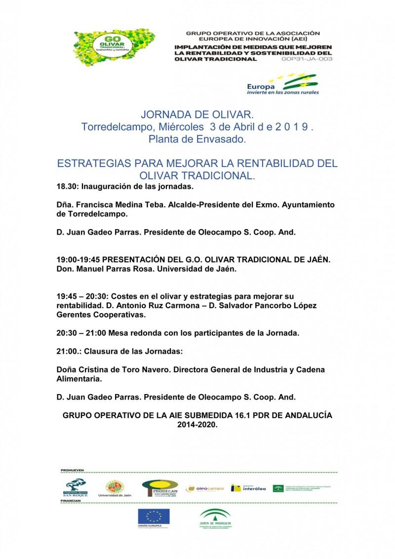 JORNADA 03 DE ABRIL DEL 2019 Torredelcampo