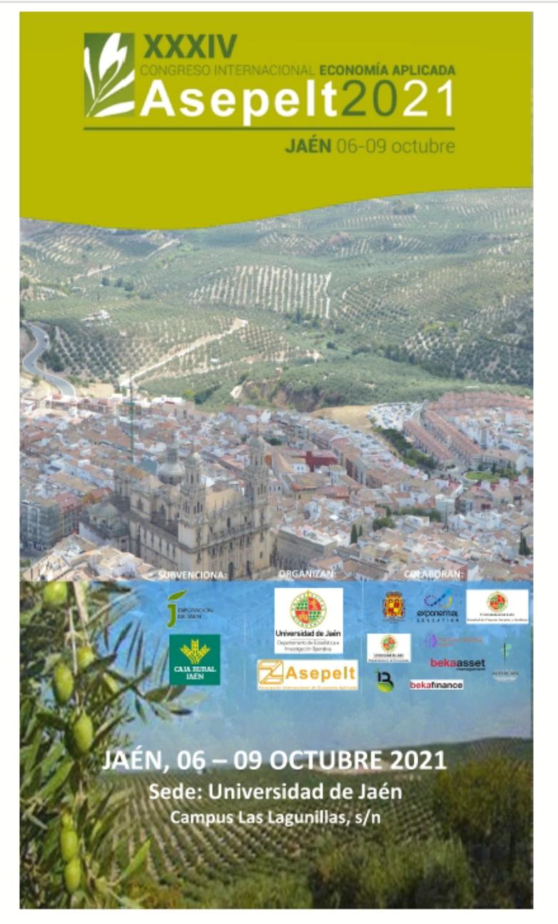 XXXIV congreso internacional de economía aplicada ASEPELT 2021